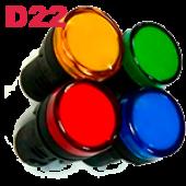 Матричная лампа AD-22DS LED IEK