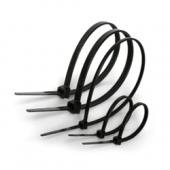 Хомут кабельний пластиковий колір - чорний ТМ ElectrO