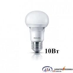 Светодиодная лампа Philips ESS LEDBuld 10W E27 6500K 230V A60 RCA