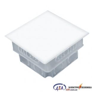 Коробка монтажная розветвительная D95*95*35мм, (КМ-202)