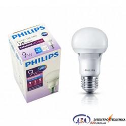 Светодиодная лампа Philips ESS LEDBulb 9W E27 4000K 230V A60 RCA
