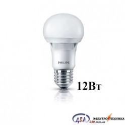 Светодиодная лампа Philips ESS LEDBuld 12W E27 3000K 230V A60