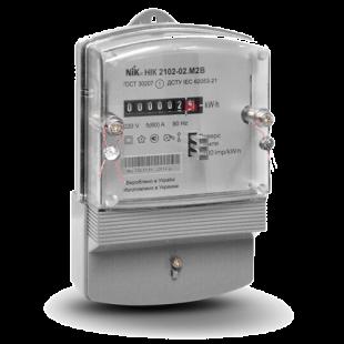 Счетчик НІК 2102-02 М2В, 5(50)А, 1ф 220В, электромеханический однотарифный