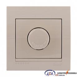 Диммер 1000 Вт   крем, скрытой  установки  DERIY  702-0303-157