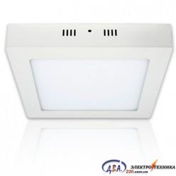 Светильник LED-SS-255-18 6400K (225*225) квадрат накладной