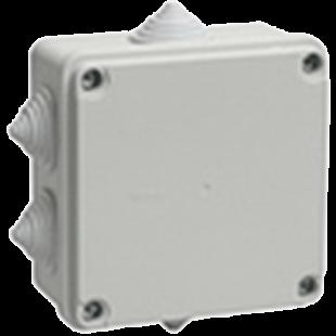Коробка распаячная КМ41233, для о⁄п, 100х100х50 мм ІР44 ІЕК