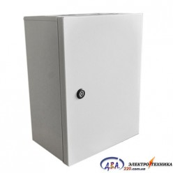 Корпус электротехнический КЭП 80.50.20-1.0.1.0 IP 31 в комплекте с монтажной панелью 2мм