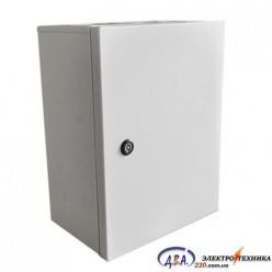 Корпус электротехнический КЭП 80.50.25-1.0.1.0 IP 31 в комплекте с монтажной панелью 2мм