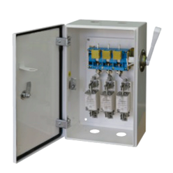 Ящик переключения ЯПРП-250 BILMAX с рубильником и предохранителями на 250А, ШхВхГ 310х640х198
