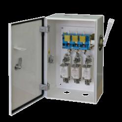 Ящик переключения ЯПРП-400 BILMAX с рубильником и предохранителями на 400А, ШхВхГ 300х740х220