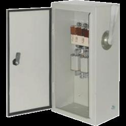Ящик переключения ЯПРП-100Г с рубильником BILMAX и предохранителями на 100А, IP54, ШхВхГ 255х500х166