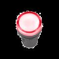 Лампа AD-22DS LED-матрица d22мм красный 230В IEK