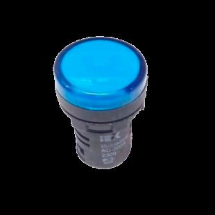Лампа AD16DS LED-матрица d16мм синяя 12В AC/DC IEK