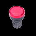 Лампа AD16DS LED-матрица d16мм красная 12В AC/DC IEK