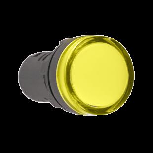 Лампа AD16DS LED-матрица d16мм жолтый 24В AC/DC IEK