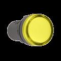 Лампа AD16DS LED-матрица d16мм жолтый 230В AC IEK