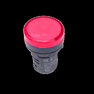 Лампа AD16DS LED-матрица d16мм красный 230В AC IEK