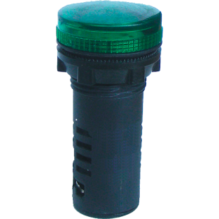Арматура Сигнальна  Матрична АСМ22/380АC/DC  З (Зеленый)  IP-54