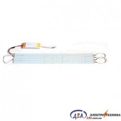 MTK 2835W (5500-6000K) 28w комплект линеек smd 2835 для замены тубов