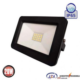 Прожектор SMD LED 20W 6400K IP65 1600Lm Aslan/40