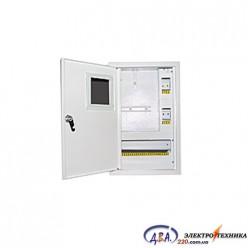 Ящик  металлический распределительный внутреней ШМР - 1Ф-8А-В ЛОЗА