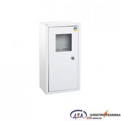 Ящик  металлический распределительный внутреней ШМР - 1Ф-16А-В ЛОЗА