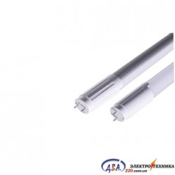 Лампа светодиодна  трубчаcта L-1500-6400-13 T8 24Вт 6400K G13220-240В 2200Lm стекляная