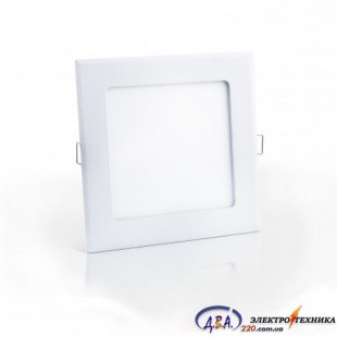 Светильник  LED SLIM/Sq-15 15Вт 4200К квадр. встр. 195*195мм