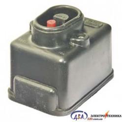 Кнопка пусковая ПНВС 10А 380В Чорная (S 380-30) 16