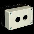 Корпус КП102 для кнопок 2места белый IEK