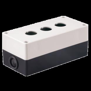 Корпус КП103 для кнопок 3места белый IEK
