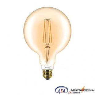 Лампа Philips LEDClassic 7-60W G120 E27 2000K Gold