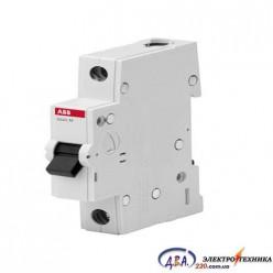 Автоматический выключатель 1р 40А С 4,5Ка АВВ  Basic M