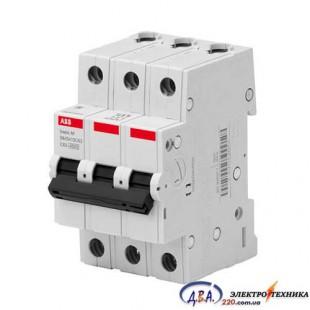 Автоматический выключатель 3р 20А С 4,5Ка АВВ  Basic M