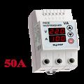 Реле напряжения с контролем тока VA-50 (на DIN-рейку)