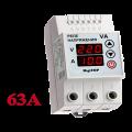 Реле напряжения с контролем тока VA-63 (на DIN-рейку)