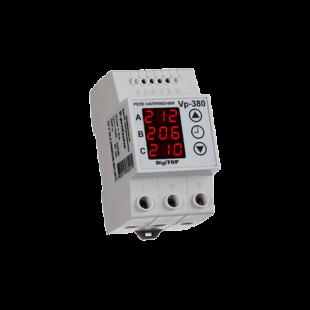 Реле напряжения Vp-380в (на DIN-рейку 3фазы фазное)