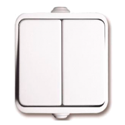 2223 ORBITA Iproof44 Выключатель двойной