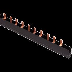 Шина соединительная типа PIN, 4Р 100А 1м 18 мм IEK