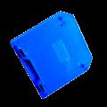 Заглушка для ЗНИ-4  6мм2 синий  IEK