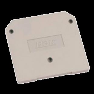 Заглушка для ЗНИ-10  10мм2 серый  IEK