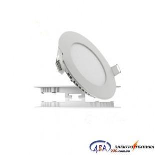 Светильник  LED SLIM-15 15Вт 4200К круг встр. 195мм
