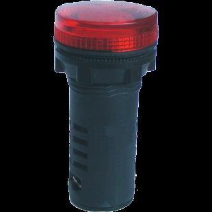 Арматура Сигнальна  Матрична АСМ22/380АC/DC  Ч (Красный)  IP-54