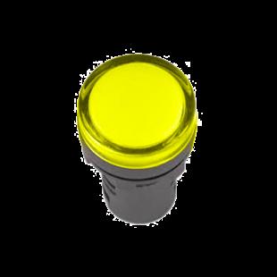 Лампа AD-22DS LED-матрица d22мм желтый 110В AC/DC IEK