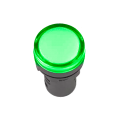 Лампа AD-22DS LED-матрица d22мм зеленый 110В AC/DC IEK