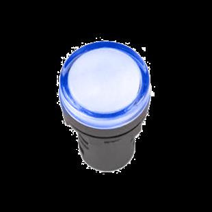 Лампа AD-22DS LED-матрица d22мм синий 110В AC/DC IEK