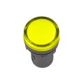 Лампа AD-22DS LED-матрица d22мм жолтый 230В IEK