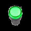 Лампа AD-22DS LED-матрица d22мм зеленый 230В IEK