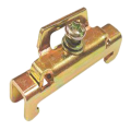 Ограничитель на DIN-рейку металлический IEK