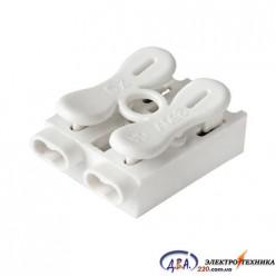 Разъем кабеля (коннектор) 2 полюса 2,5мм